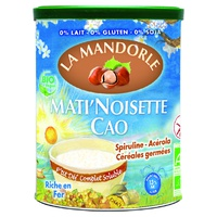 """Mati 'Noisette Small hazelnut-cocoa with germinated cereals """"Fleur O germ"""" Bio"""