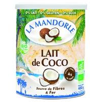 "Organic ""coconut blossom"" coconut milk"