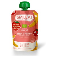 Organic Strawberry and Banana Drinkable Pouch + 4 Months