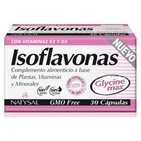 Isoflavonas con Vitaminas K2 y D3