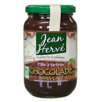 Crema de chocolate sin leche