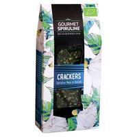 Crackers de espirulina, maca y baobab