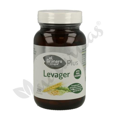 Levager (Levadura de Cerveza con Germen de Trigo) 200 comprimidos de El Granero Integral