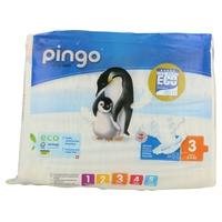 Pañales T3 Bio (4-9 kg) 44 unidades de Pingo