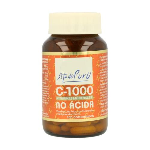 Vitamina C-1000 (no ácida)