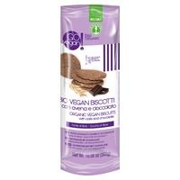 Galletas bio veganas con avena y chocolate