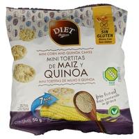 Mini Tortitas de Maíz y Quinoa Sin Gluten