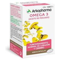 Arkocápsulas Omega 3 Fish Oil