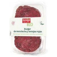Burguer Remolacha y Lenteja roja