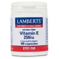 Vitamine E 250 UI