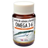 Aceite de salmón y borraja Omega 3 y 6