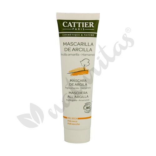 Mascarilla Arcilla Amarilla (Pieles Secas) 100 ml de Cattier