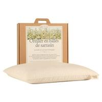Almofada de trigo sarraceno orgânico