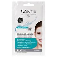 Maska przeciwstarzeniowa z kwasem hialuronowym i algami