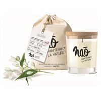 Natural jasmine scented candle large model 40h