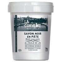 Pasta de jabón negro con aceite de lino para el suelo