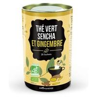 Duo thé vert Sencha et gingembre