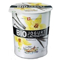 Yogur sin lactosa Vainilla Bio