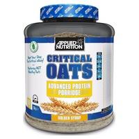 Critical Oats Protein Porridge, Golden Syrup
