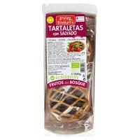 Tartaletas Integrales con Frutos del Bosque Eco