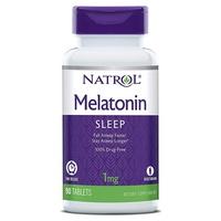 Czas uwalniania melatoniny, 1 mg