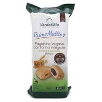 Bollo de harina integral ecológica con gotas de chocolate