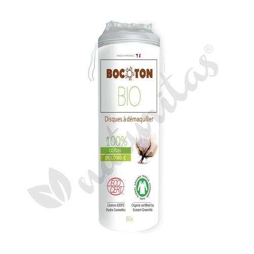 Discos Desmaquillantes algodón bio 60 Unidades de Bocoton