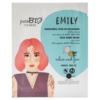 Emily Sheet Mask - Dry Skin - Relax & Fun