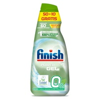 Finish Gel lave-vaisselle 0% 60 doses