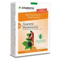 Complexe d'Arkocápsulas Guarana et Eleutherococcus - Stimulant et Tonifiant