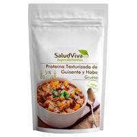 Coarse bean and pea protein