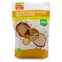 Snack-Mini Crispbread Soczewica -Sezam i sól morska