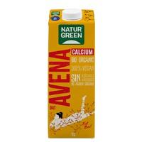 Boisson biologique à l'avoine et au calcium