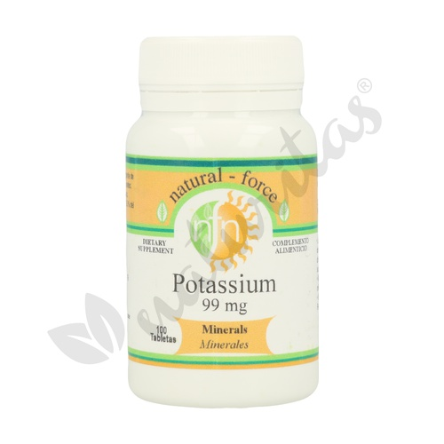 Potasio 100 comprimidos de 99 mg de Nutri-Force