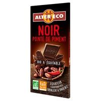 Chocolate negro al punto de pimienta bio