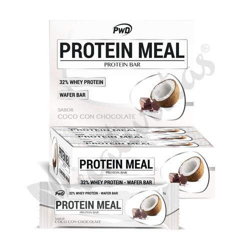 Barrita Protein Meal (Sabor Chocolate con Coco) 1 unidad de 35 gr de Pwd