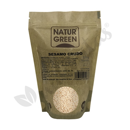 Sésamo Crudo Bio 225 gr de Naturgreen