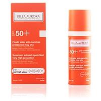 BELLA AURORA SOLAR manchas de pele anti-secas SPF50 +
