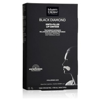 Black Diamond Ionto-Lift Lip Contour Patches + Gel