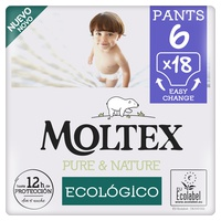 Diapers Moltex Pure & Nature T6 (+ 14kg)