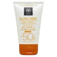 Crema Solar Facial antimanchas color SPF50