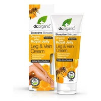 Organic Royal Jelly Leg & Vein Cream, 200 ml - effetto relax gambe cream