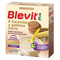 Blevit Plus 8 Cereais e Bolacha Maria