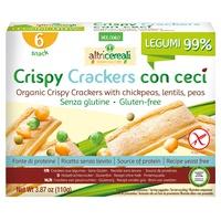 Crispy crackers con ceci