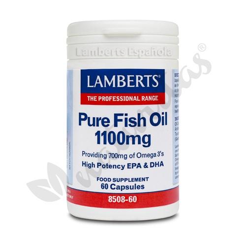 Aceite de Pescado 60 perlas de Lamberts