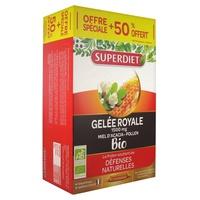 Ginseng Acérola Gelée Royale Bio + 50% offert
