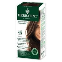 Hair Dye Gel Permanent Coloring 4N Brown