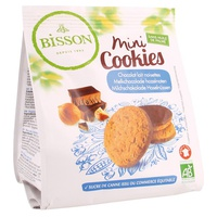 Mini Cookies de chocolate con avena