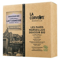 Box of organic Marseillais Douceur pavers