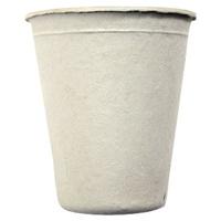 Jednorazowe kubki 100% kompostowalne z włókna